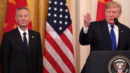 """Estados Unidos firma con China la """"fase 1"""" del acuerdo comercial"""