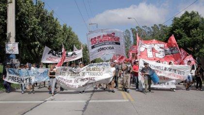 Córdoba: los molineros de Minetti siguen en pie de lucha