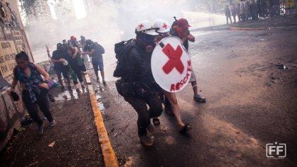 Las expresiones populares ganan la calle, imágenes del Frente Fotográfico en la revuelta chilena