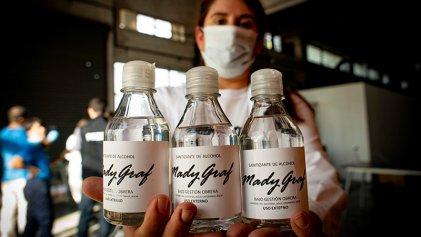 [Video] Fábrica bajo gestión obrera MadyGraf produjo elementos de sanitización contra el coronavirus