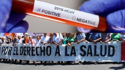 ¡En Salud nos organizamos! Por nuestras vidas y nuestros derechos