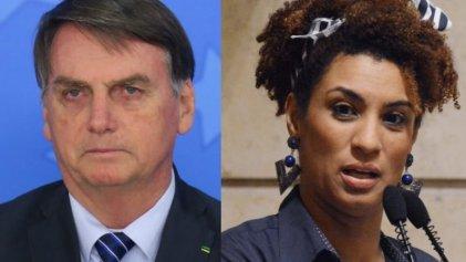 Mensaje mafioso de Bolsonaro: nombró a Marielle Franco para exigir más impunidad