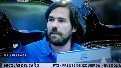 """Diputado argentino del Frente de Izquierda: """"A los grandes empresarios, a los bancos no les tocan un centavo, ¿hasta cuándo?"""""""