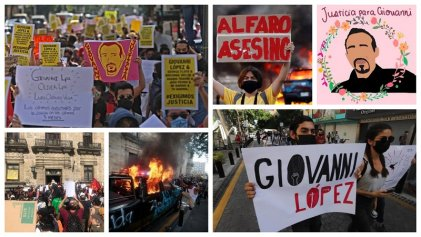 Claves sobre el asesinato de Giovanni López en Jalisco a manos de la policía