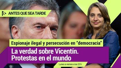Espionaje ilegal y persecución  La verdad sobre Vicentín   Protestas en el mundo