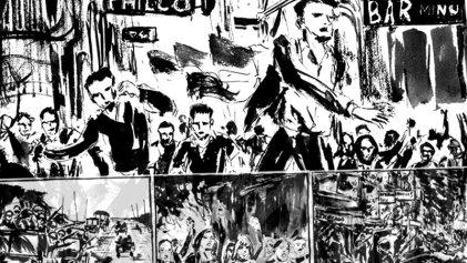 RomptsComic: el Cordobazo, cuando obreros y estudiantes desafiaron al poder - parte 2
