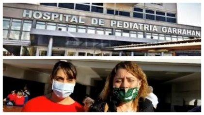 Enfermeras del Garrahan se plantan y consiguen licencias por grupo de riesgo para Covid-19
