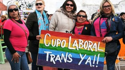 El Congreso ya debate el cupo laboral trans: Del Caño presentó proyecto