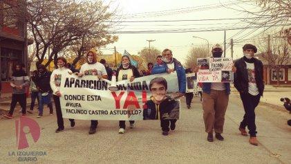 """Tres meses sin Facundo: el pueblo de Pedro Luro marchó y gritó """"¡aparición con vida ya!"""""""