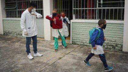 En la provincia de San Juan volverán a las clases presenciales