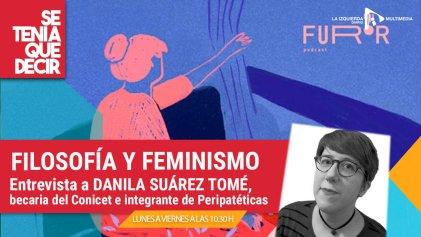 """Danila Suárez Tomé: la pandemia, el """"hackeo"""" de nuestras vidas y la filosofía feminista"""