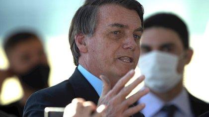 Tras amenazar a un periodista, Bolsonaro afirmó que la prensa lo persigue