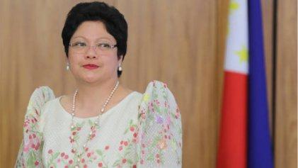 Embajadora de Filipinas en Brasil golpeó a una empleada y le ordenaron irse del país