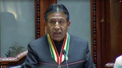 El nuevo vicepresidente de Bolivia inaugura la asunción presidencial con un discurso conciliador