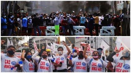 Perú entre la crisis política y la emergencia de conflictos obreros