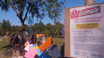 Festival por la ley antimegaminería en Río Negro