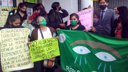 El FIT exige en Jujuy que se cumpla con la ley que prohíbe desalojar comunidades indígenas