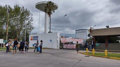 Siderar Canning: la policía y un fiscal amenazan con desalojo y causas penales