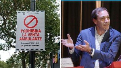 El intendente de La Plata no cesa su persecución contra las y los vendedores ambulantes