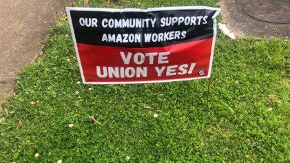 Desde Alabama: así se vive la lucha por un sindicato en Amazon