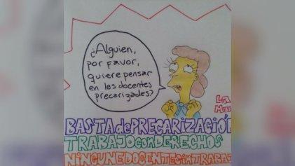 Docentes precarizados y desocupados de La Plata empiezan a organizarse