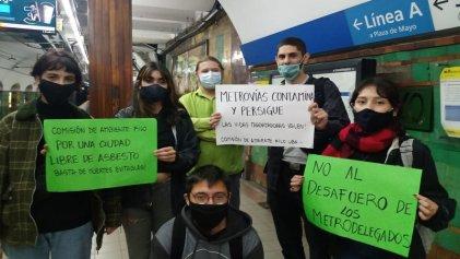 Trabajadores y estudiantes impulsan gran campaña contra los desafueros en el subte