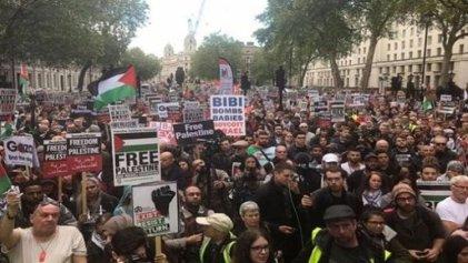 Se multiplica la solidaridad internacional con Palestina y en repudio a los ataques de Israel
