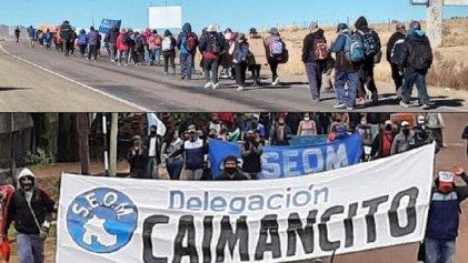 Municipales marchan desde La Quiaca y El Talar contra la precarización laboral