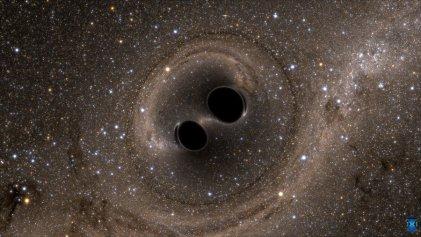 El sonido del silencio: la colisión de los agujeros negros