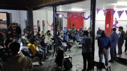 La Plata: gran concurrencia en el relanzamiento de la Escuela De Oficios de La Red