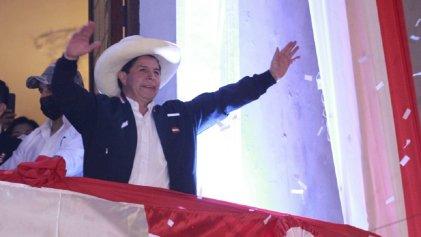 Pedro Castillo finalmente fue proclamado presidente electo de Perú