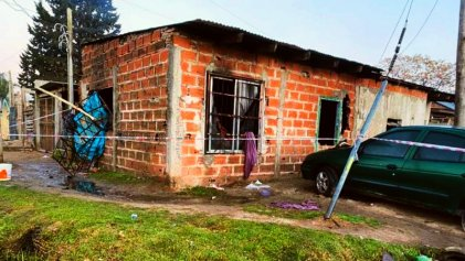 Crimen social en Pilar: mueren dos niñas al incendiarse su casa