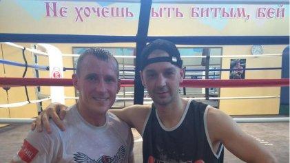 """Boxeo: tras enriquecedora experiencia, """"El Principito"""" Witt vuelve al país"""