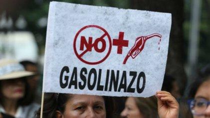 El gasolinazo de Peña y las trasnacionales ¡no pasará!