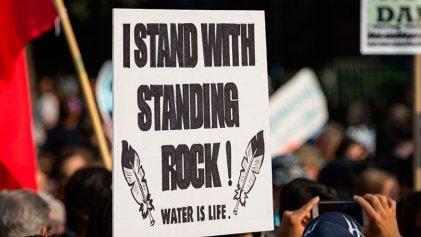 Nuestra lucha es por el agua de todas las personas: Jefe Sioux