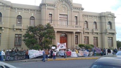 Movilización en Benito Juárez contra construcción de planta termoeléctrica
