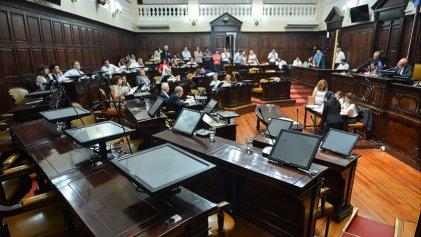 Papelón en el Senado mendocino durante la votación de la ley de ética pública
