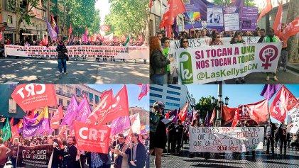 1º de Mayo: decenas de miles marchan junto al sindicalismo combativo en todo el Estado español