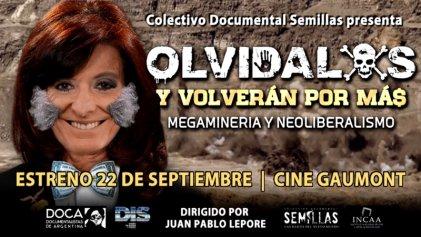 Un documental sobre la megaminería en el epicentro del cianuro