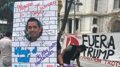 Continúa la campaña contra el muro de Trump