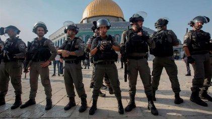 Casi un centenar de heridos por represión de la Policía israelí en Jerusalén
