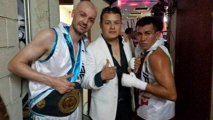 Boxeo: triunfo de El Principito Witt en México