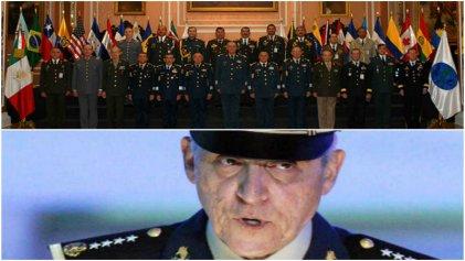 Comandantes de América se reúnen en Washington, entre ellos Salvador Cienfuegos