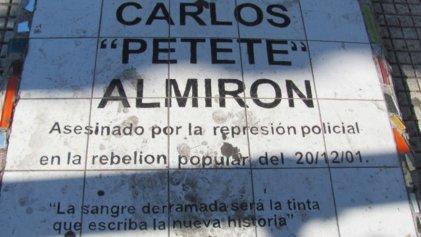 """Carlos """"Petete"""" Almirón ¡presente!"""