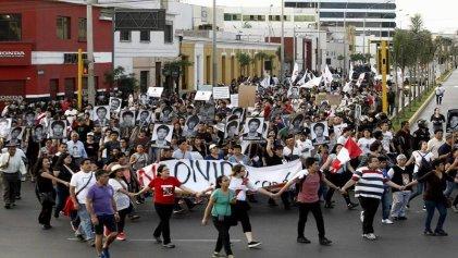 La CGTP se moviliza en todo el Perú