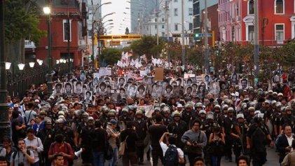 Este #28D todo Perú se movilizó contra el indulto a Alberto Fujimori