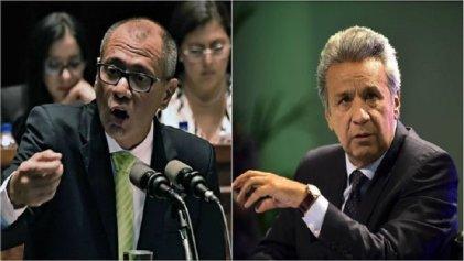 Lenín Moreno anuncia la destitución del vicepresidente ecuatoriano