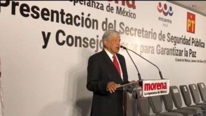 El narcotráfico y la estrategia de seguridad de López Obrador