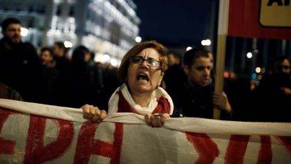 Nueva ola de protestas en Grecia contra las medidas antisindicales de Syriza