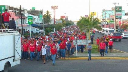 México, represión del gobierno y unidad de los trabajadores en Michoacán